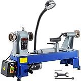 Mophorn Torno para Madera Mini 550W 1400Rpm para Uso en Laboratorios Talleres Ingeniería y Enseñanza