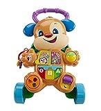 Fisher-Price Ríe y Aprende - Andador Perrito Primeros Pasos, Correpasillos Bebé +6 meses (Mattel FRC85)