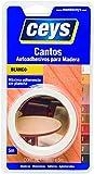Ceys 850002 Cantos Autoadhesivos para Madera, 0 W, 0 V, Blanco, 19 mm x 5 m