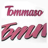 Nombres decorativos en madera • Nombres Personalizados, color y tamaño, Nombres para decoración, Regalos personalizados • 30 cm | 40 cm | 50 cm Nombres en madera natural y a color !!