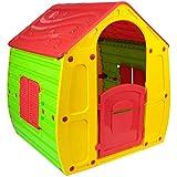 KG KITGARDEN - Caseta Infantil Exterior, 102x90x109 cm, Multicolor, Magical House