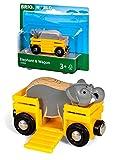 Brio - Remolque con elefante (33969)