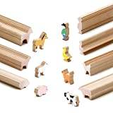 Erzi Moulding Wooden Toy Farm Craft-Moldura de Madera (45 x 11 x 60 cm), Multicolor, (41262)