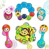 EastSun Juguete sensorial de instrumentos musicales para bebé