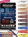 Coconix Kit de reparación de Pisos y Muebles - Restaurador de su Mesa de Madera, gabinete, Chapa, Puerta y mesita de Noche - Instrucciones fáciles de Usar Que Combinan con Cualquier Color