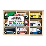 Melissa & Doug- Wooden Town Vehicles (13170)