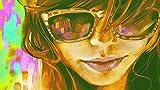Rompecabezas De Madera De Alta Calidad 1000 Piezas Chica Coloridas Gafas De Sol Personalización Artesanal De Bricolaje, Regalo De Vacaciones Único (75 X 50 Cm)
