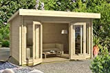 Lasita Maja Dorset 34 I - Caseta de jardín (grosor de la pared: 34 mm)