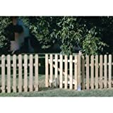 Seifil M115928 - Puerta madera para valla clasica 80 x 100 cm