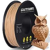 GIANTARM filamento PLA 1,75 mm para impresora 3D 1 kg ,madera