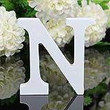 Junecat 26 Grandes Letras de Madera del Alfabeto de la Pared cuelgan Fiesta de la Boda Casa Comprar Decoración