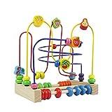 Juguetes de Madera Laberinto Montessori para Niños Juguetes Abalorios de Frutas Juegos Educativos para Niños Niñas 3 4 5 6 Años