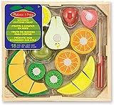 Melissa & Doug- Set Frutas Madera para Cortar (96046)