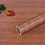 Hode Papel Adhesivo para Muebles Grano Madera Vinilos Decorativos Actualización Autoadhesiva 40X300cm (Madera)
