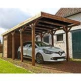 MADEIRA - MADEIRA - Carport 1 coche madera tratada autoclave - Harry