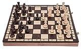SQUARE - Ajedrez de Madera - SPORT - 40 x 40 cm - Piezas de ajedrez & Tablero de ajedrez…
