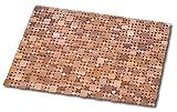 Dintex Alfombra de Teka, Madera, 60 x 40 cm