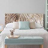 setecientosgramos Cabecero Cama PVC | WoodTree | Varias Medidas | Fácil colocación | Decoración Dormitorio (150x60cm)