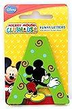 Selis Mickey Mouse - Letra Adhesiva de Madera - Hay 5 Colores Diferentes, se envían de Forma aleatoria