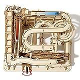 Robotime Laser Cut Puzzle de Madera Maquetas para Construir Adultos | Kit de Construcción Set Model | Juego de Puzzle en 3D (Waterwheel Coaster)