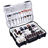 TACKLIFE 361 Accesorios de herramientas rotativas, diámetro de mangos 1/8'(3.2mm) con 4 Chucks universales para amoladora eléctrica de corte, amolado, lijado, afilado, tallado y pulido de accesorios