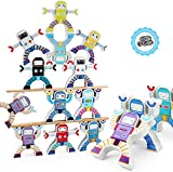 Tiray Ledy Juegos de apilamiento de Madera, Hercules Acrobatic Troupe Interlock Toys, Juegos de Bloques de Equilibrio Juguetes educativos para niños pequeños para niños de 3 4 5 6 años Niños