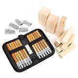 ZPONEED Kits de tallado en madera para principiantes y profesionales