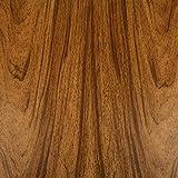 Venilia 53150 - Lámina adhesiva nuez, lámina decorativa, lámina para muebles, lámina autoadhesiva, aspecto madera natural, 45 cm x 3 m, grosor: 0,095 mm