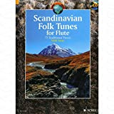 BorasTapeter Scandinavian Folk Tunes–Arreglados para flauta travesera–con CD [de la fragancia/Alemán] de la serie: Schott World Music