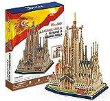 CubicFun- Puzzle 3D Sagrada Familia (CPA Toy Group Trading S.L. MC153)