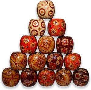 abalorios de madera