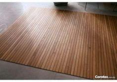 alfombras de madera