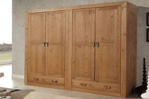 armarios de madera baratos