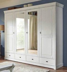 armarios de madera blancos