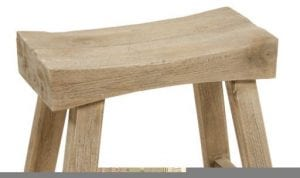 banqueta de madera