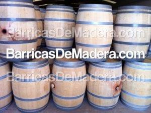 barriles de madera baratos