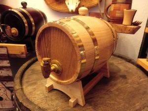 barrilito de madera