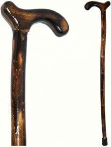 bastones de madera hechos a mano