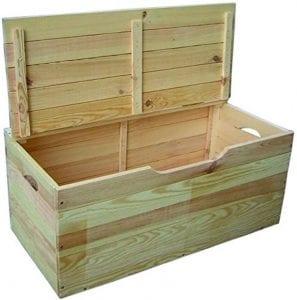 baules de madera grandes