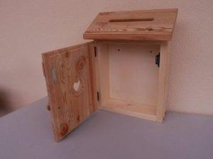 buzones de madera