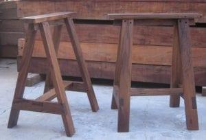 caballetes para mesa de madera
