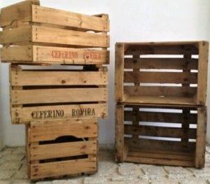 cajas de fruta de madera baratas