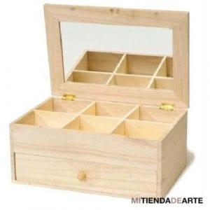 cajas de madera con cajones