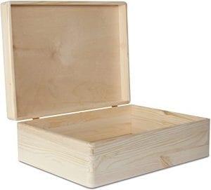 cajas de madera con tapa