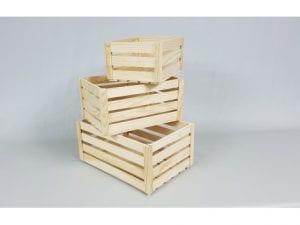 cajas de madera medidas