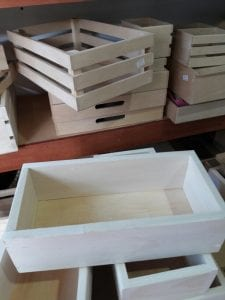 cajas de madera para pintar