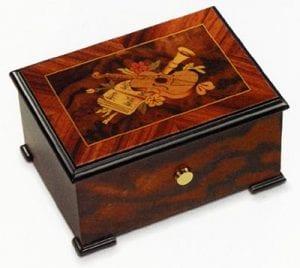 cajas musicales de madera