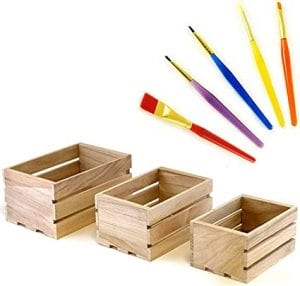 cajas pequeñas de madera