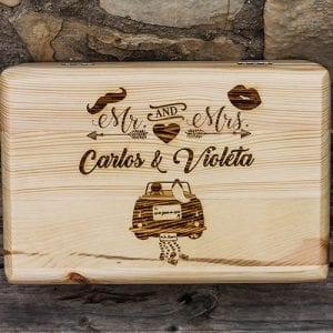 Cajas Personalizadas de Madera