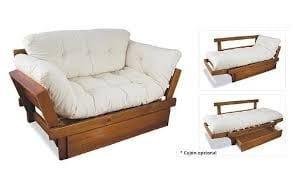 camas sofa de madera